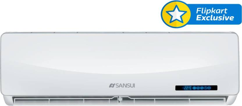 Sansui 1.5 Ton 5 Star Split AC  - White