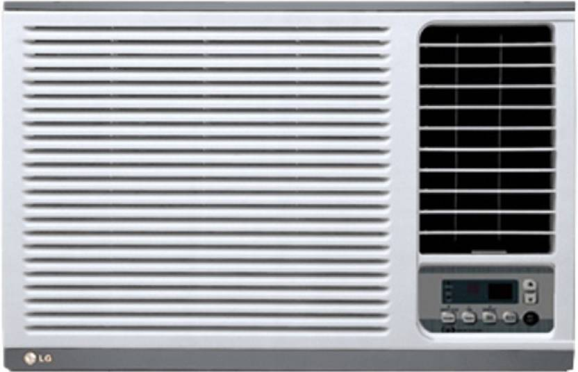 LG 1 Ton 3 Star Window AC  - White