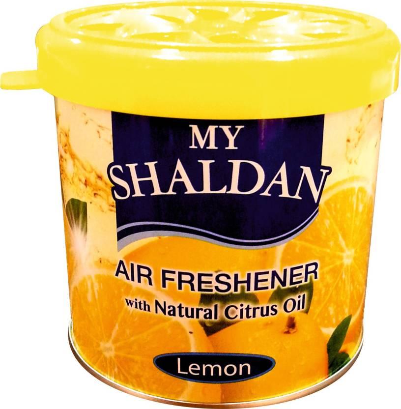 new concept 56cb2 562a2 ... My Shaldan Lemon Gel Air Freshener ...
