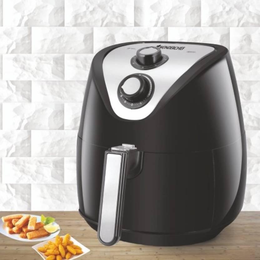 Minimum 50% Off on Wonderchef & Prestige Air Fryers By Flipkart | Wonderchef Prato Premium Air Fryer  (2.5 L) @ Rs.3,495