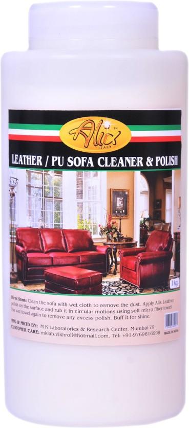 Alix Leather Sofa / PU Cleaner U0026 Polish