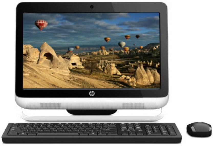 HP Omni 120-2020IN / Intel 2nd Gen G620 Dual Core/ 2 GB / 1 TB / Win 7 Home Basic (White & Black)