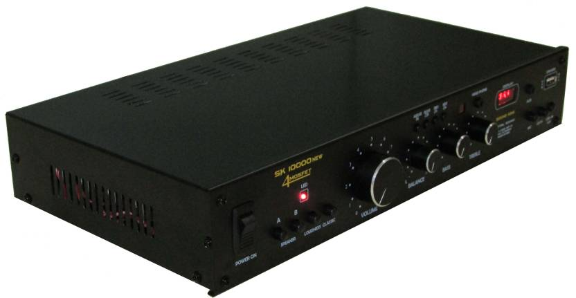 Sound King SK_10000_4 Channel 280 W AV Power Amplifier