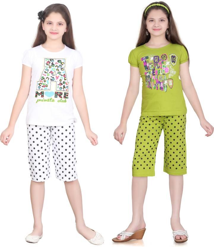 Sini Mini Kids Nightwear Girls Cotton Price in India - Buy Sini Mini ... 9e8759c9c