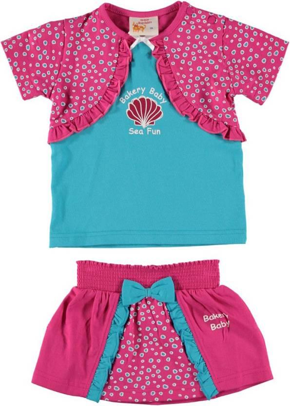 The Dutch Design Bakery Skirt Baby Girls Combo - Buy The