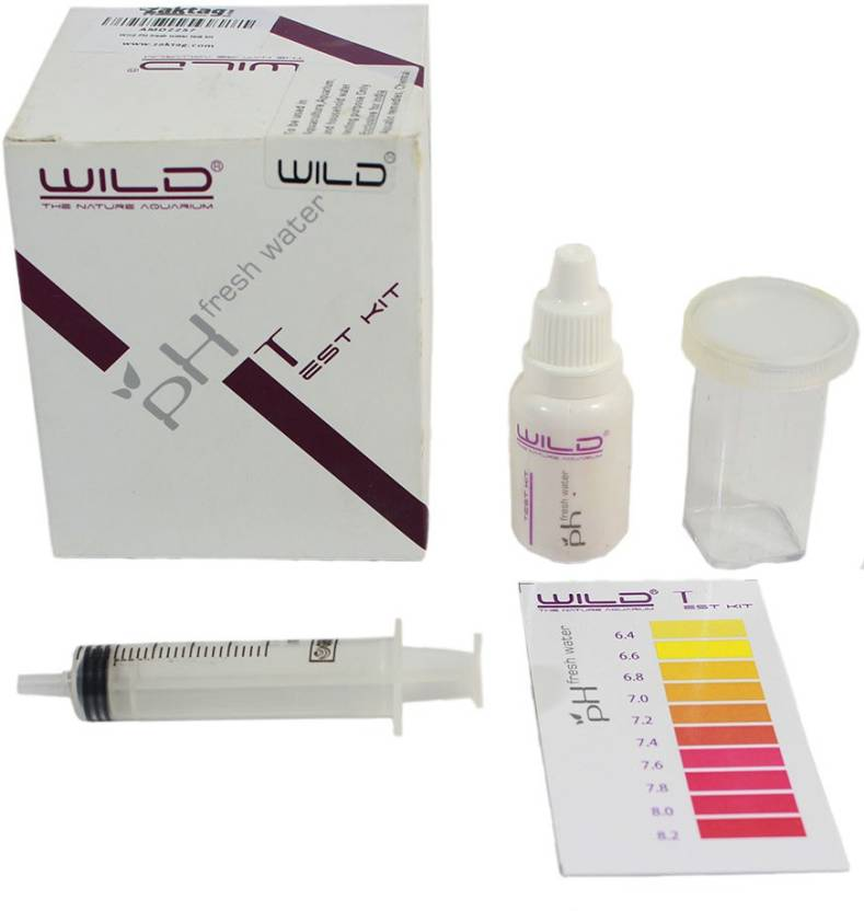 Wild Liquid Aquarium Water Test Kit