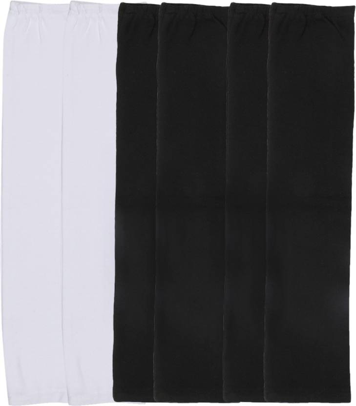 024848e335 Gumber GE_TUBE_W_BLK_BLK_3PC Cotton Arm Warmer Price in India - Buy ...
