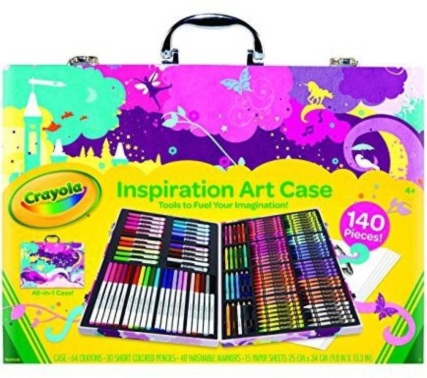 crayola crayola inspiration art case pink crayola inspiration art