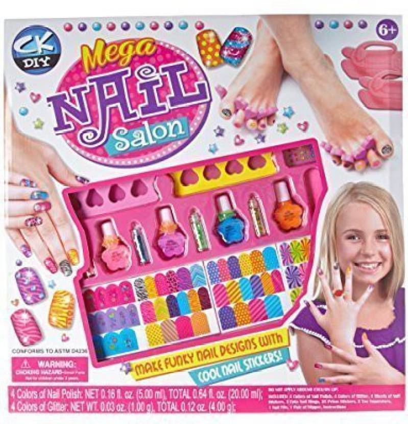 Enchanting Barbie Nail Salon Frieze - Nail Paint Design Ideas ...