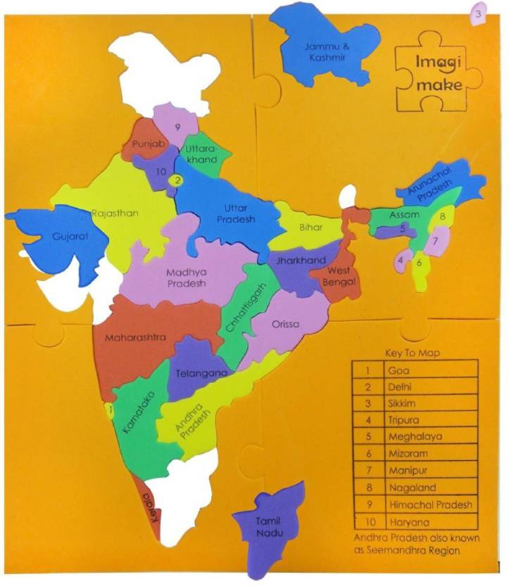 Imagimake Mapology - States of India