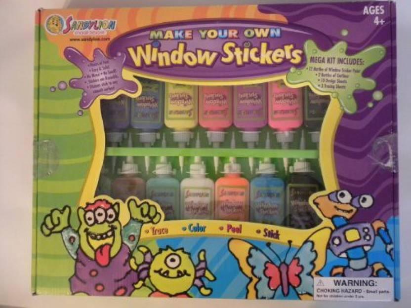 Sandylion make your own window stickers kit