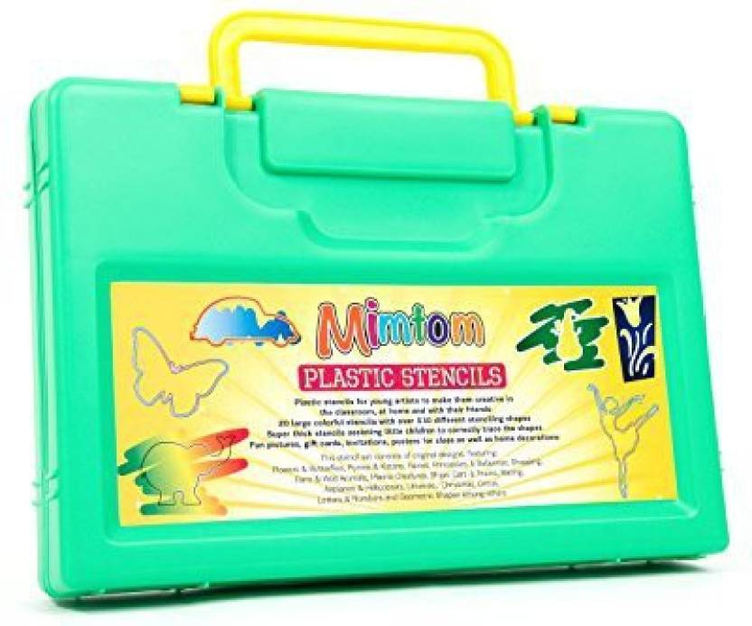 Mimtom Mimtom Drawing Stencils For Kids More Than 370 Shapes 20