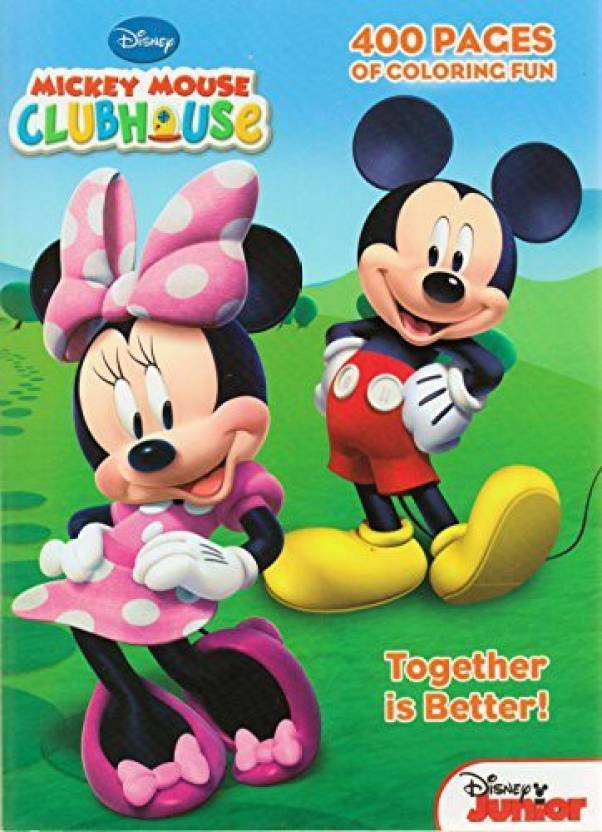 4412dee9768 Mickey Mouse Clubhouse Gigantic Coloring Book - 400 Pages - Clubhouse  Gigantic Coloring Book - 400 Pages . Buy Mickey Mouse