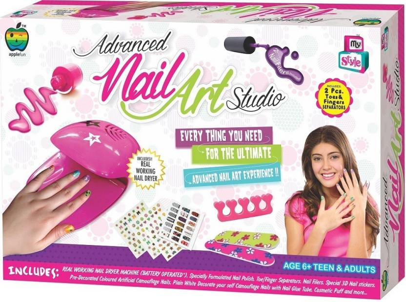 Apple Fun Advanced Nail Art Studio - Advanced Nail Art Studio . shop ...