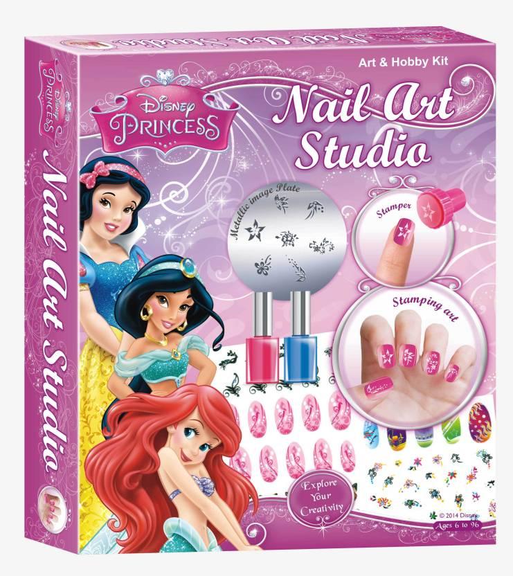 Disney Princess Nail Art Studio - Princess Nail Art Studio . Buy ...