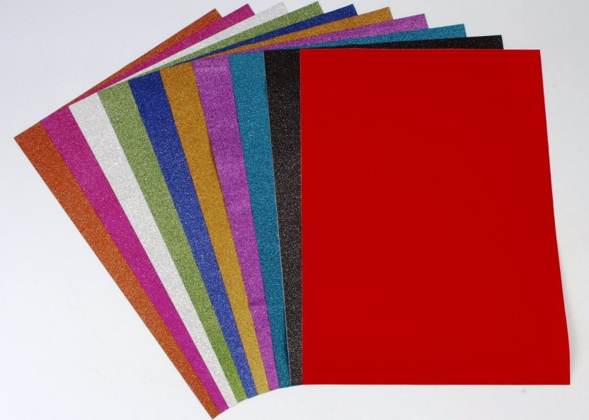 Crafting Hobby Felt Sheets X 5 Red