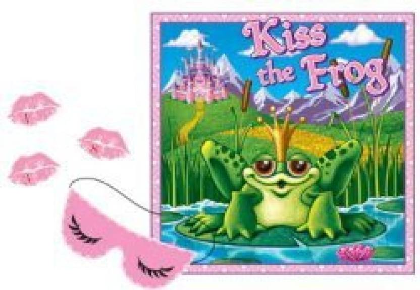 Beistle Kiss The Frog Party Game Kiss The Frog Party Game Buy