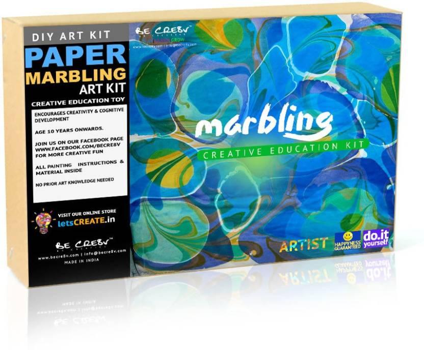 Be Cre8v Water Marbling Artist Kit