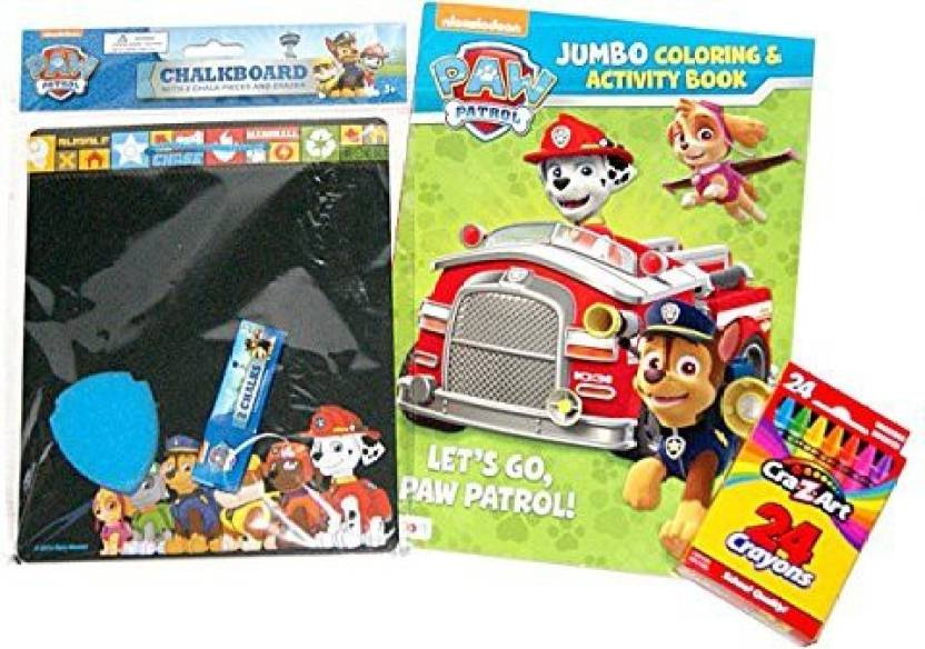 Friendship Shop Paw Patrol Activity Bundle Jumbo Coloring