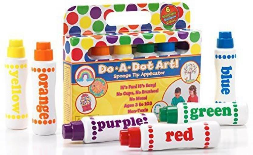 Do A Dot Art Do A Dot Art! Markers 6-Pack Rainbow Washable