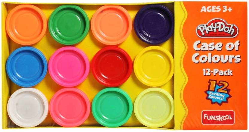 funskool play doh case of colours play doh case of colours shop