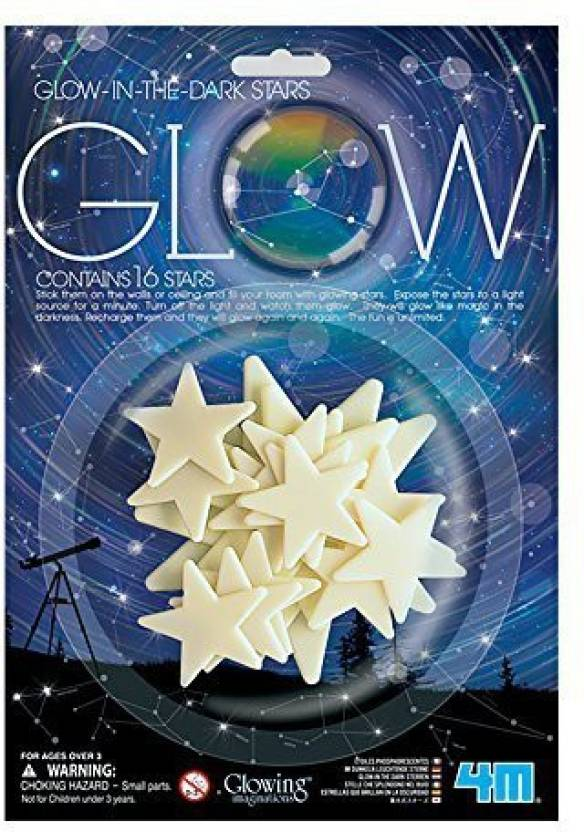 4M Glow In The Dark Stars Glowing Imaginations - Glow In The