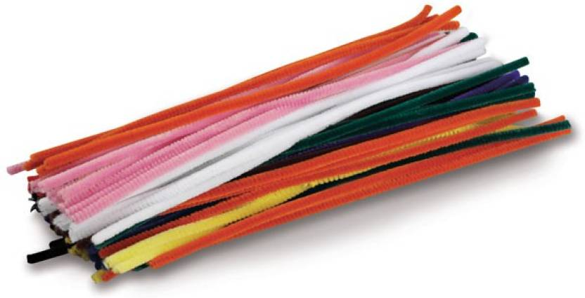 atanands 25pcs multicolored craft pipe cleaners 25pcs multicolored