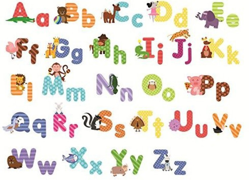 Awesome Treepenguin Animal Alphabet Wall Decals   Fun And Educational Letters For  Nursery And Kids Rooms   Easy Peel Stickers   Animal Alphabet Wall Decals    Fun ...