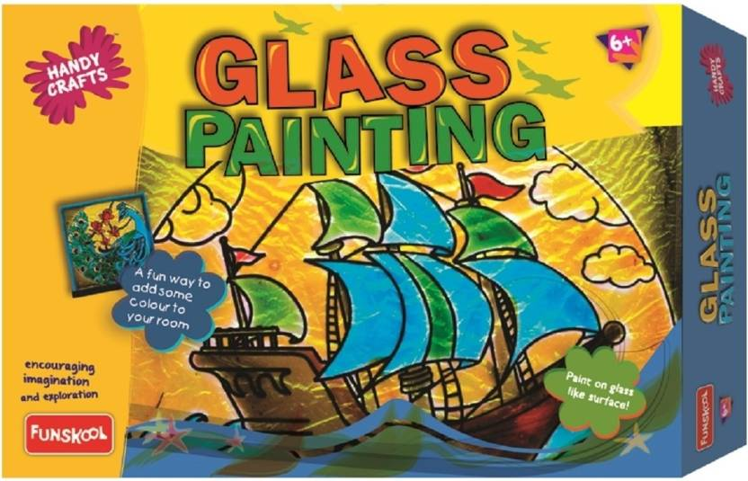 Funskool Glass Painting
