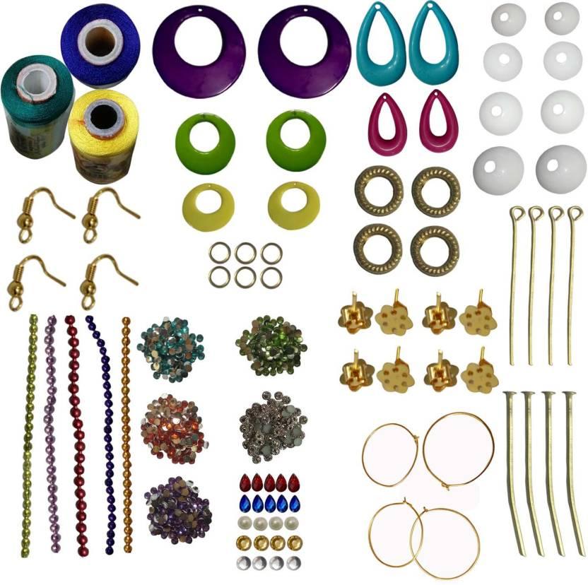 rkb green blue lemonyellow silk thread multi color strips green pink
