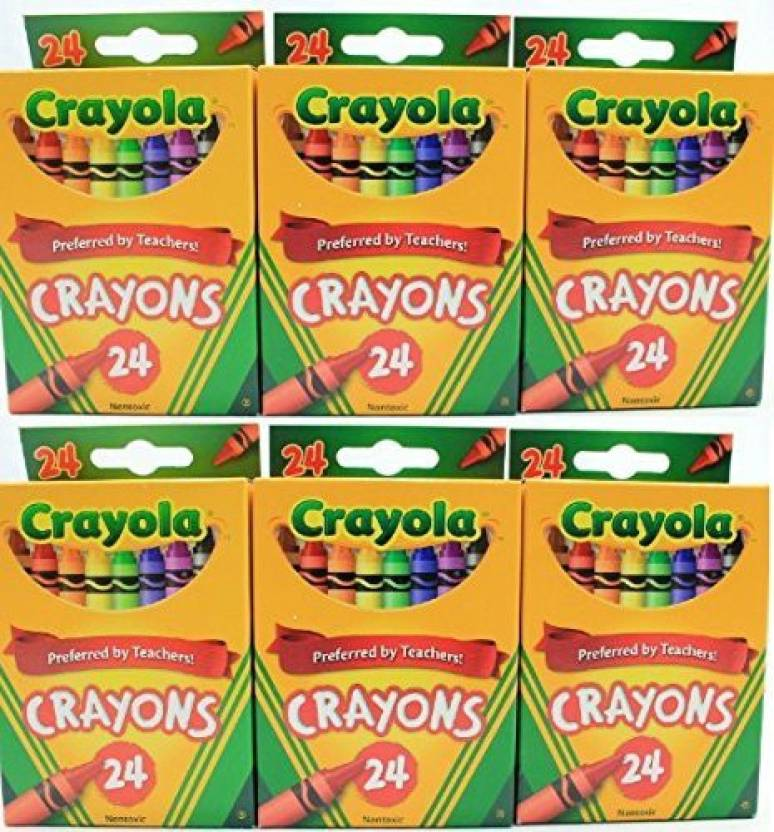 Crayola Crayons Non Toxic Color Coloring School Supplie