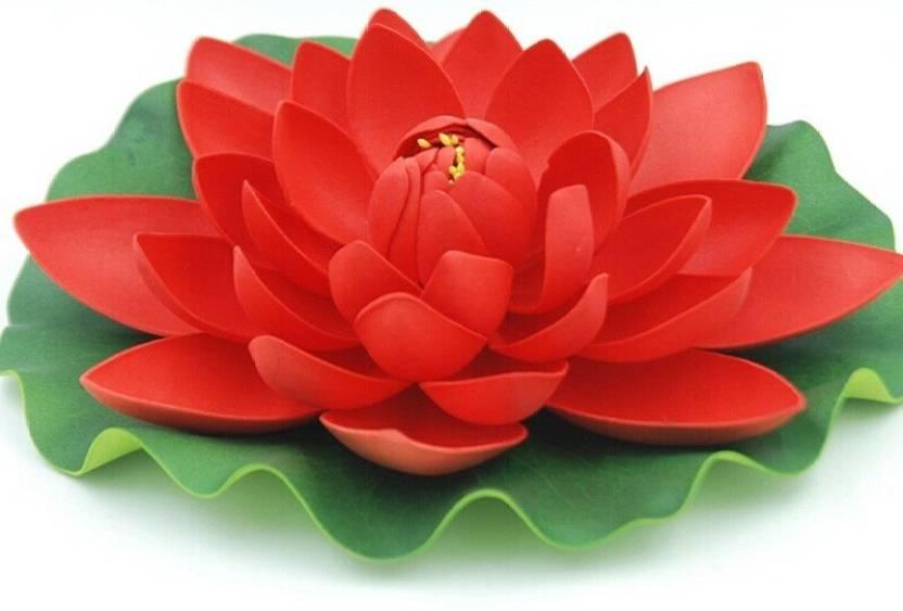 Lavi home decor lotus red assorted artificial flower price in india lavi home decor lotus red assorted artificial flower mightylinksfo