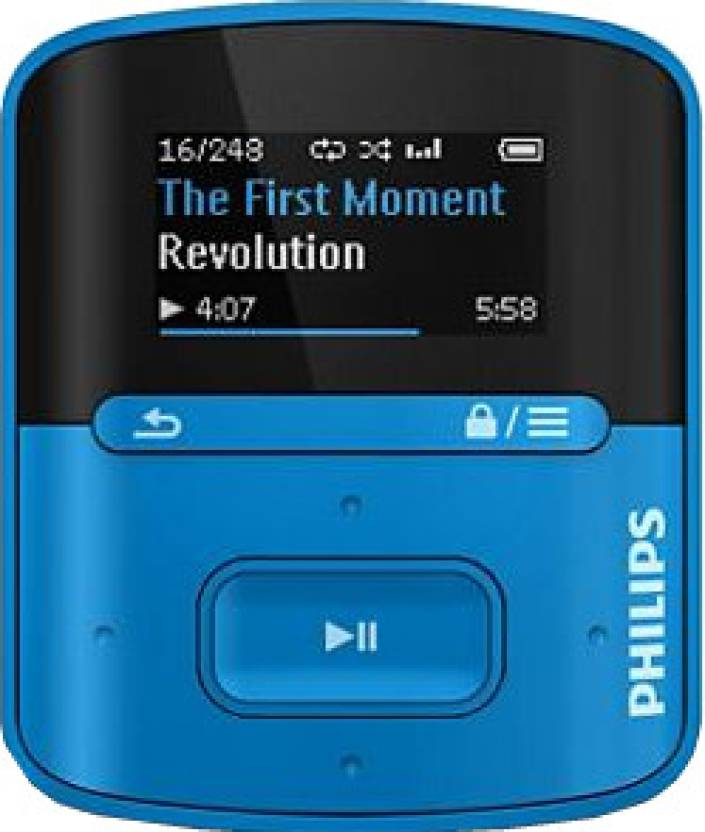 Philips SA4RGAD4BF/97 4 GB MP3 Player