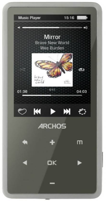Archos 24C Vision 16 GB MP3 Player