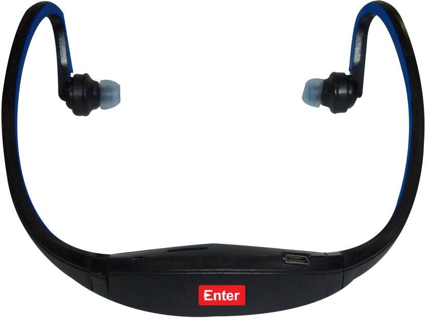 Enter E-NB3 Neckband MP3 Player (Blue)