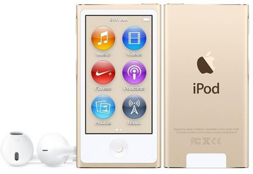 Apple iPod Nano 7th Generation 2015 Edition A1446 16 GB