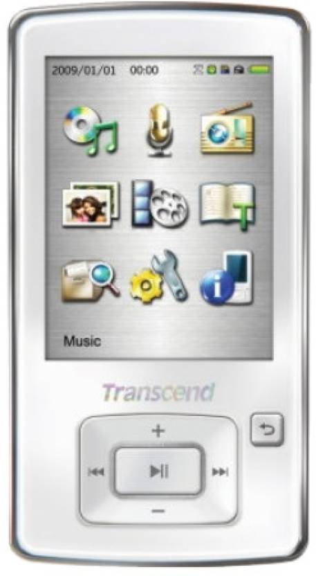 Transcend MP860 8 GB MP3 Player