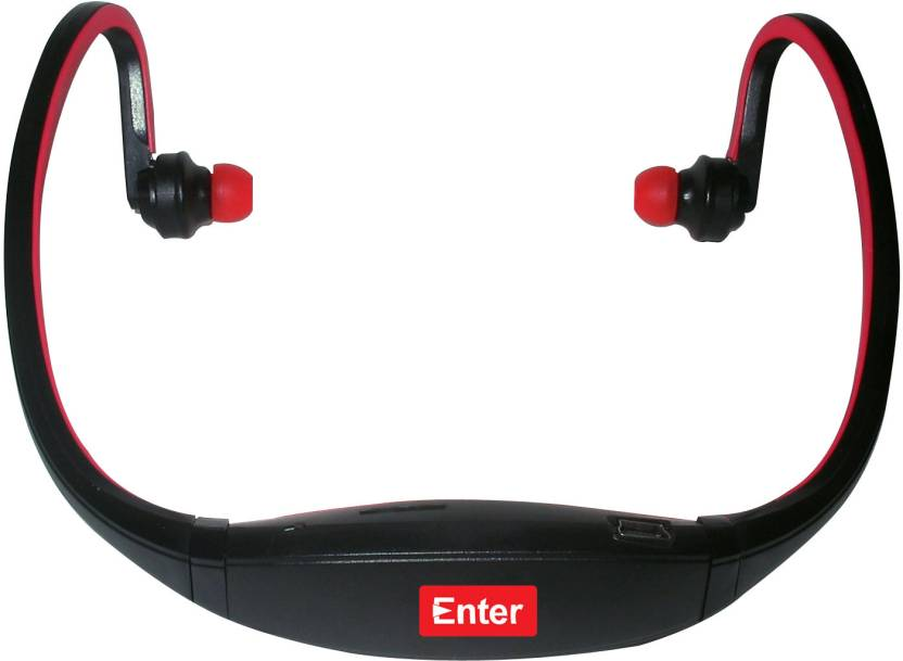 Enter E-NB3 Neckband MP3 Player (Red)
