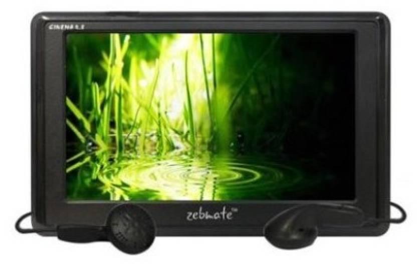 Zebronics Cinema 4.3 4 GB MP4 Player