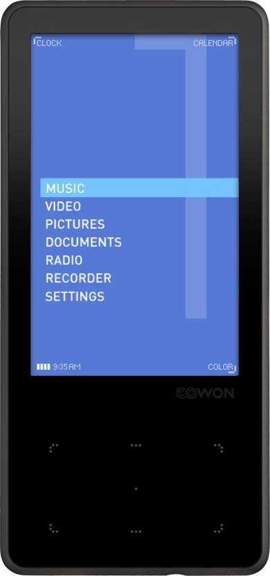 Cowon iAudio 10 8 GB MP3 Player