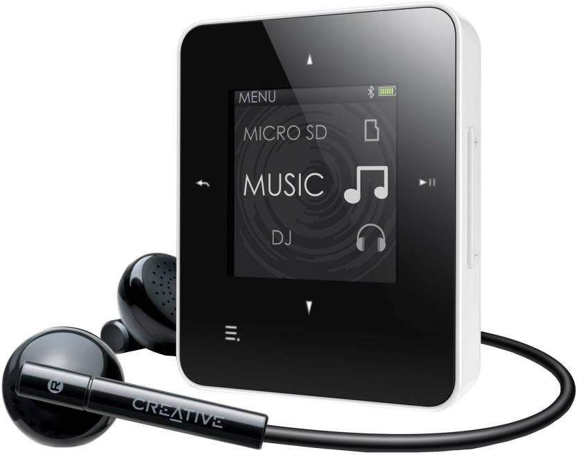 Creative Zen Style M 300 4 GB MP3 Player (White)