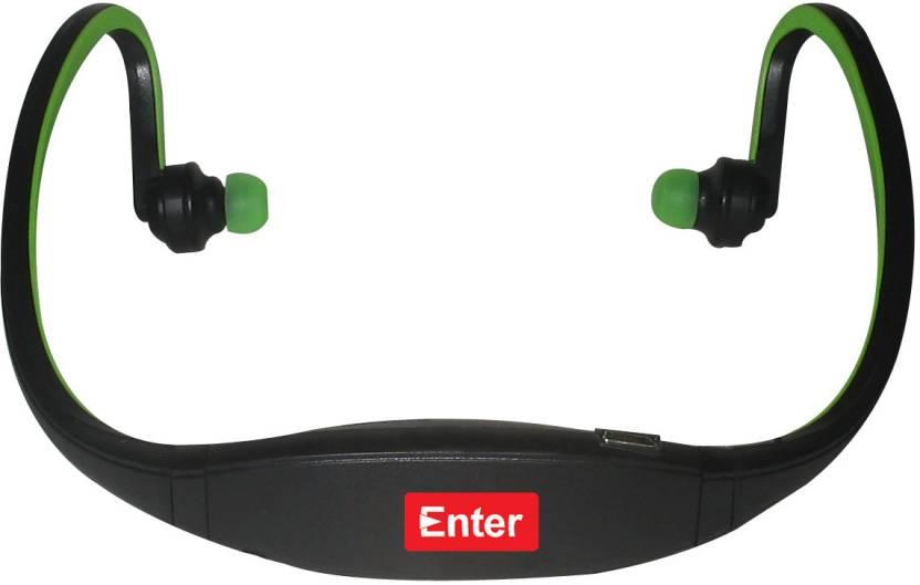 Enter E-NB3 Neckband MP3 Player (Green)