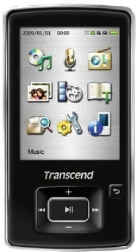 Transcend MP860 4 GB MP3 Player