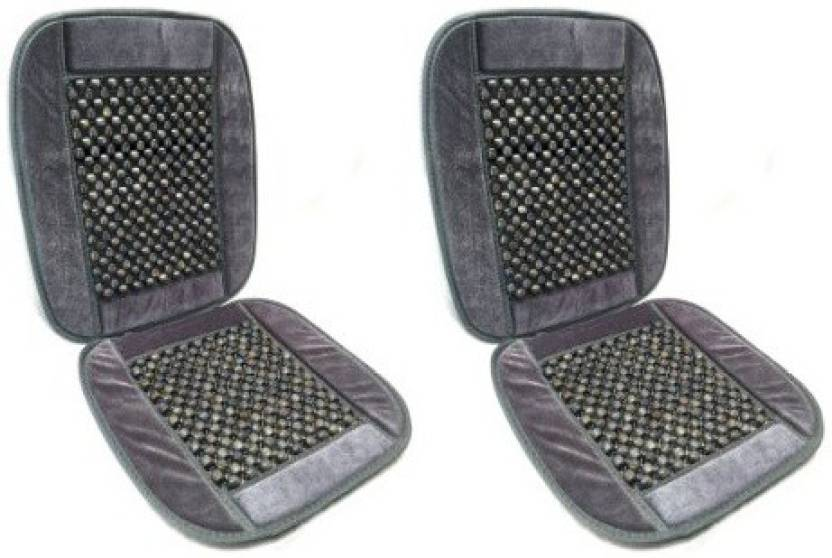 Mycar Wooden Bead Seat Car Seat Cover Combo Price in India - Buy ...