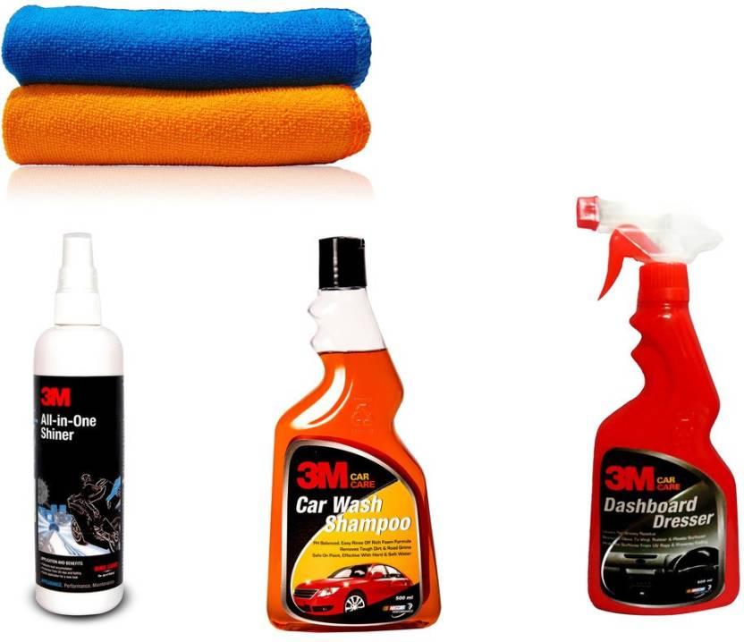 3M 1Pcs 3M Car All in one Shiner -250 ml  & 3M Car wash