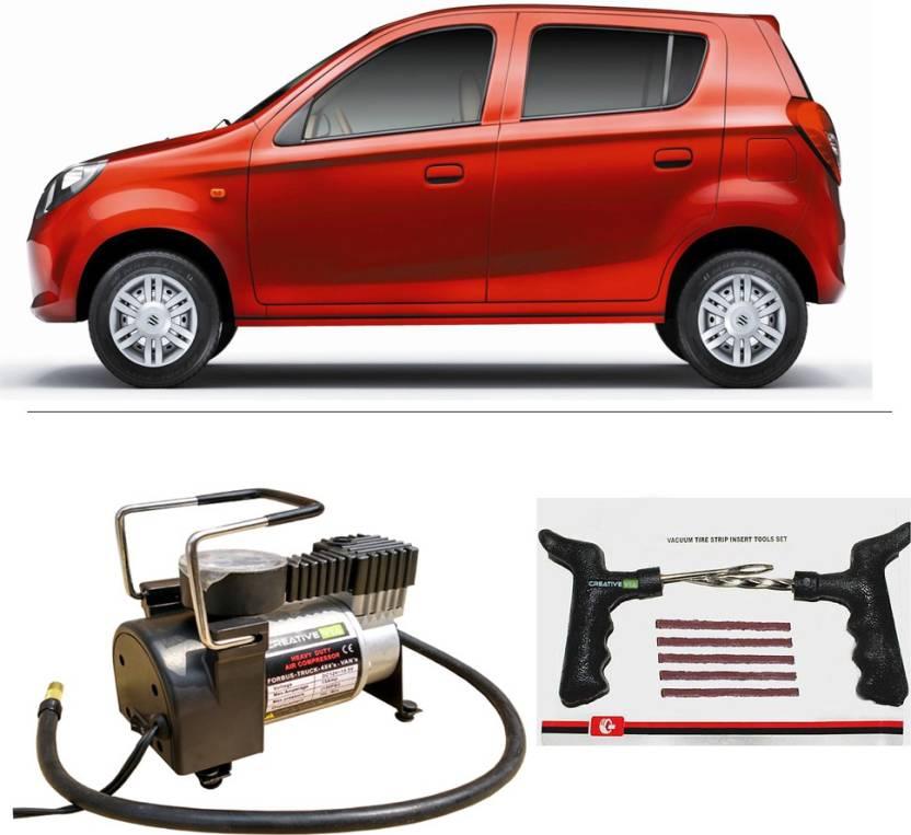 Creative Via Autocut Off Premium Metal Air Compressor With Tyre