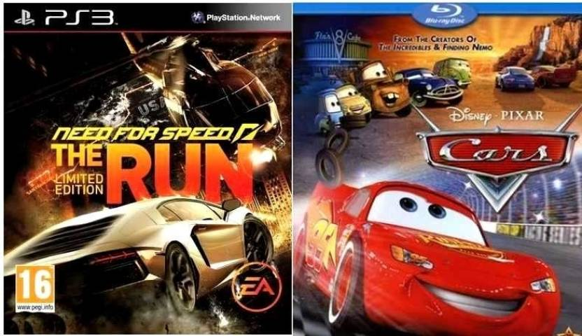 Racing Combo: NFS: The Run + Cars (BD)