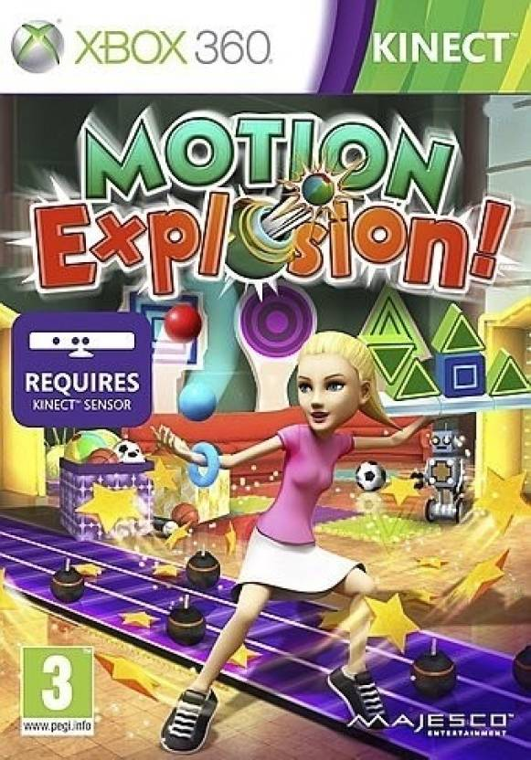 Motion Explosion! (Kinect Required)
