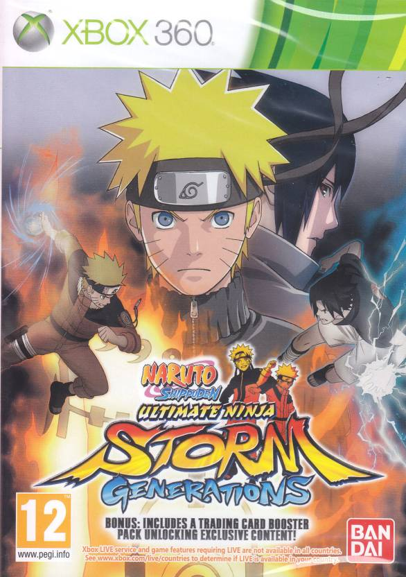 Naruto Shippuden: Ultimate Ninja Storm - Generations (With Bonus)