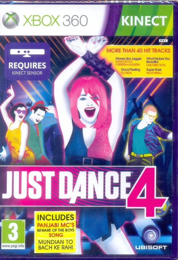 Just Dance 4 (Kinect Required)